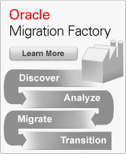Upgrade and Migration Factory by Oracle Consulting