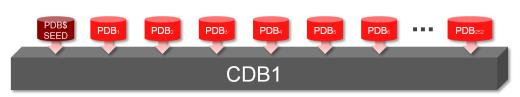 Starting up 252 PDBs in Oracle Multitenant