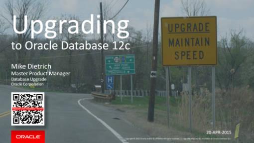 Webcast Why Upgrade 12c
