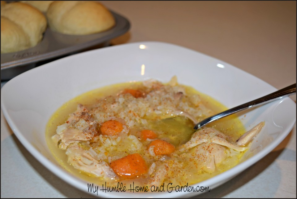 Delicious Homemade Chicken and Rice Soup
