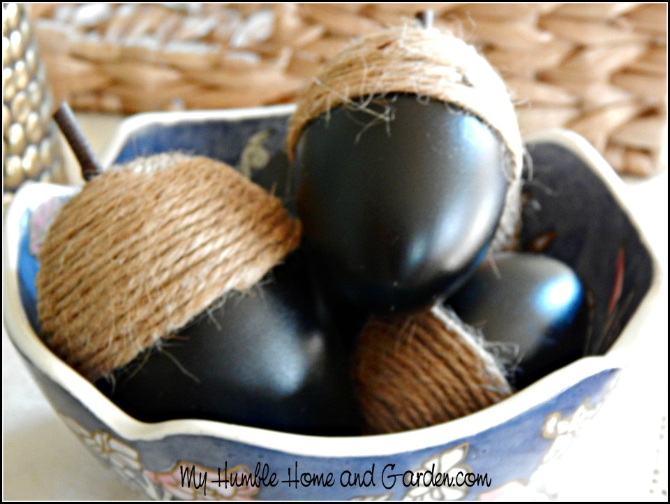 How To Make Beautiful Acorns For Displaying Now!
