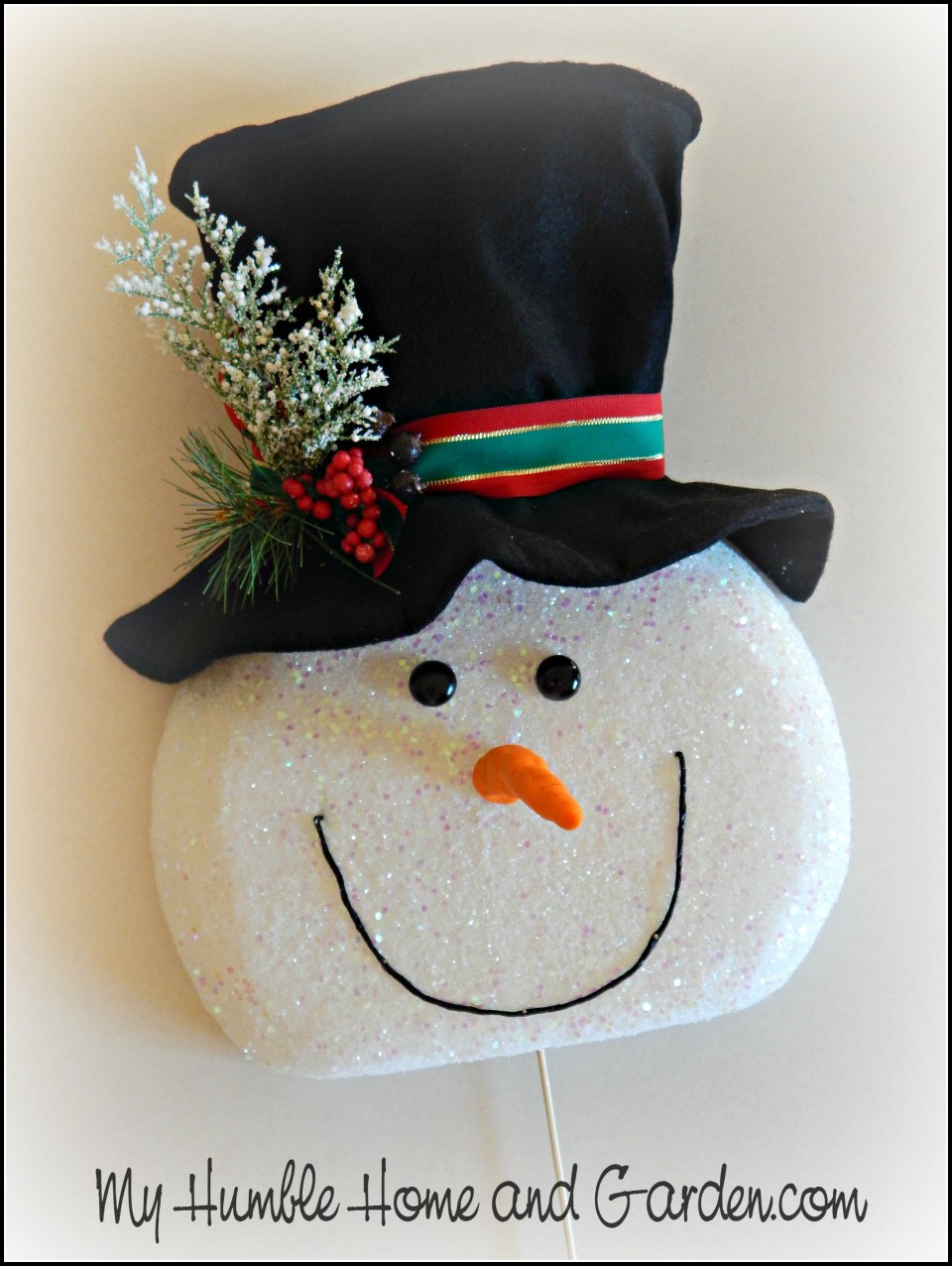 Tips and How To Create A Magical Snowman Wreath