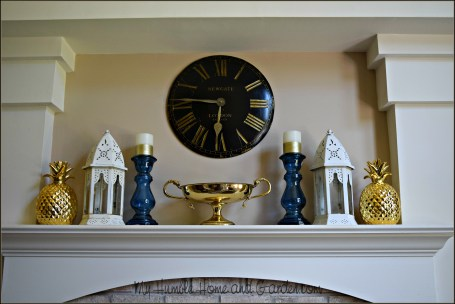 Summer Mantel Ideas and Inspiration on MyHumbleHomeandGarden.com