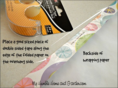 Beautiful Gift Wrapping - Step by Step on MyHumbleHomeandGarden.com