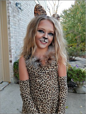 Cat Costume Details - DIY Cat Costume - For Girls With Attitude - Part 2 on MyHumbleHomeandGarden.com