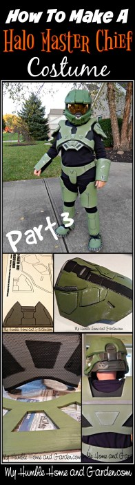 Part 3 of How To Make A Halo Master Chief Costume on MyHumbleHomeandGarden.com