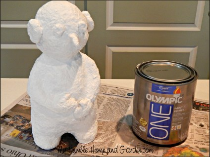 How To Make A Papier-Mâché Snowman - Part 2