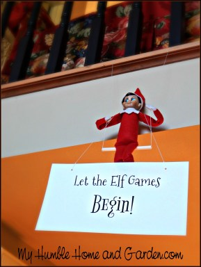 The Daring Elf On The Shelf's Explosive Arrival This Year on MyHumbleHomeandGarden.com