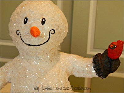 How To Make A Snowman You'll Love on MyHumbleHomeandGarden.com