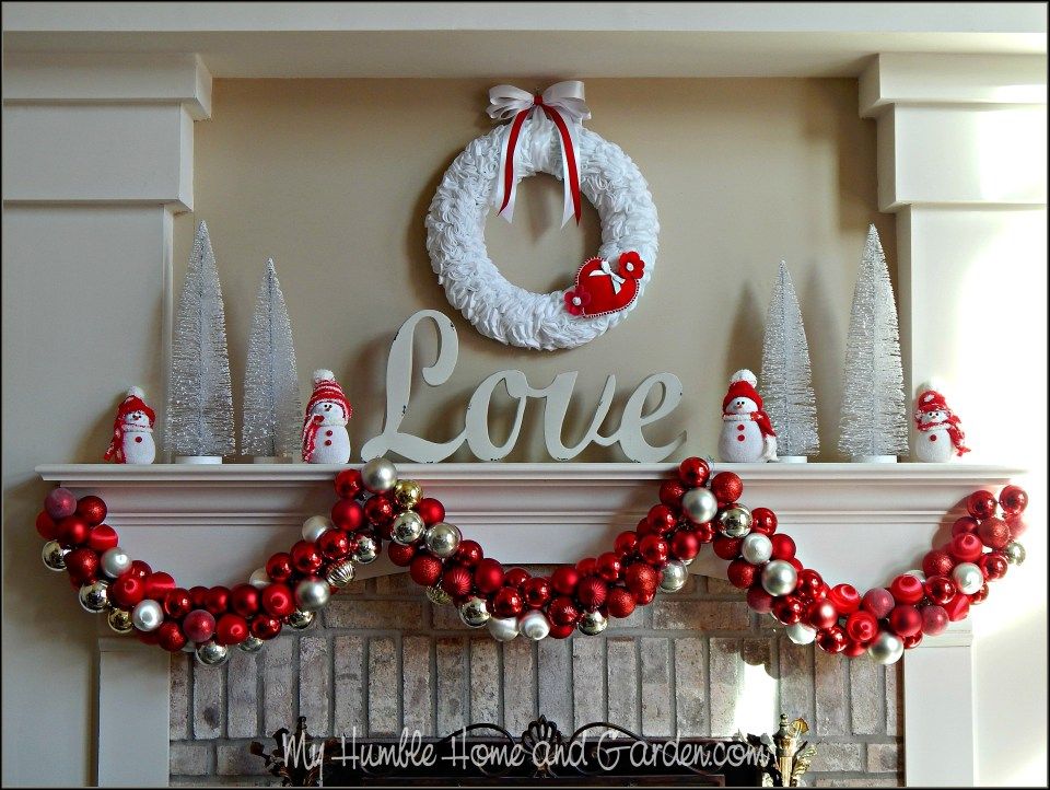 Romantic Valentine Mantel To Love and Inspire You!