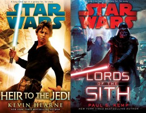 Heir to the Jedi and Lords of the Sith