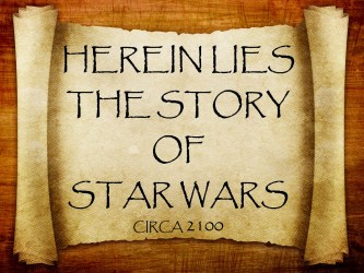 Star Wars is Ancient History