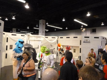 Muppets in the Bacta Chamber