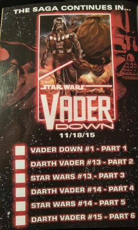 Vader Down Guideline