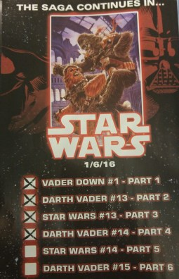 Vader Down Checklist 4