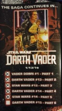 Vader Down Checklist 5