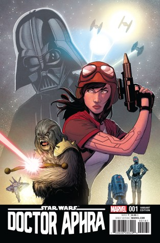 Doctor Aphra #1 Mc Kelvie Variant Cover