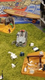 This is the toy from the old days that inspired the troop transport in Star Wars Rebels