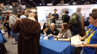 Timothy Zahn Signing