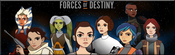 Forces of Destiny Vol 1 and 2