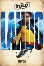 Lando's Teaser Poster