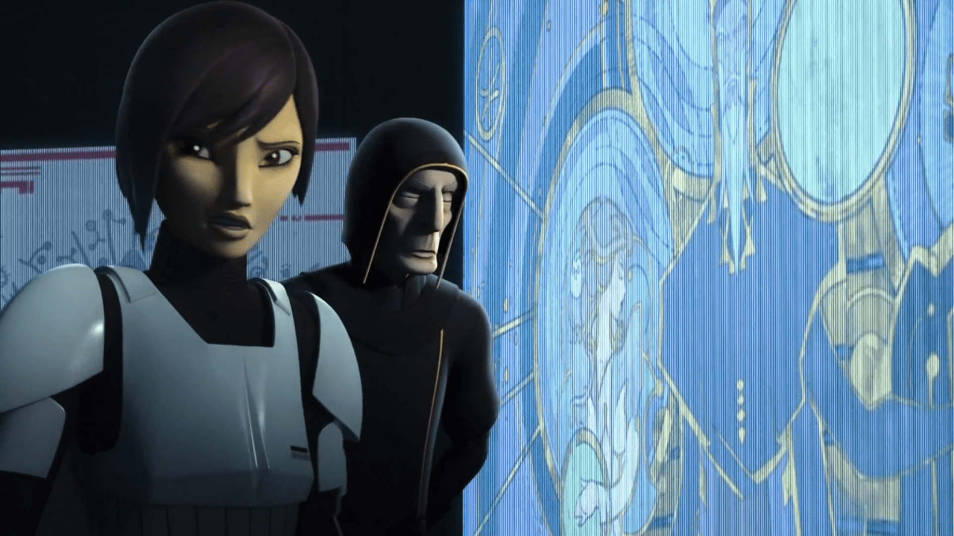 Star Wars Rebels Review Wolves And A Door A World Between Worlds Mynock Manor