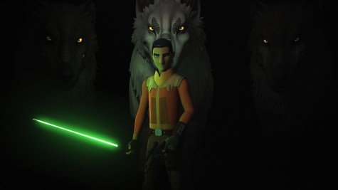 Star Wars Rebels Series Finale Ezra and the Wolves