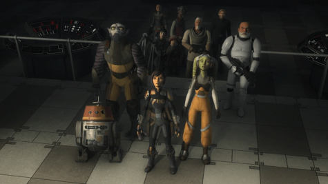 Star Wars Rebels Series Finale Goodbye for Now