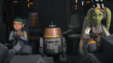 Star Wars Rebels Series Finale JACEN SYNDULLA with Mommy Hera