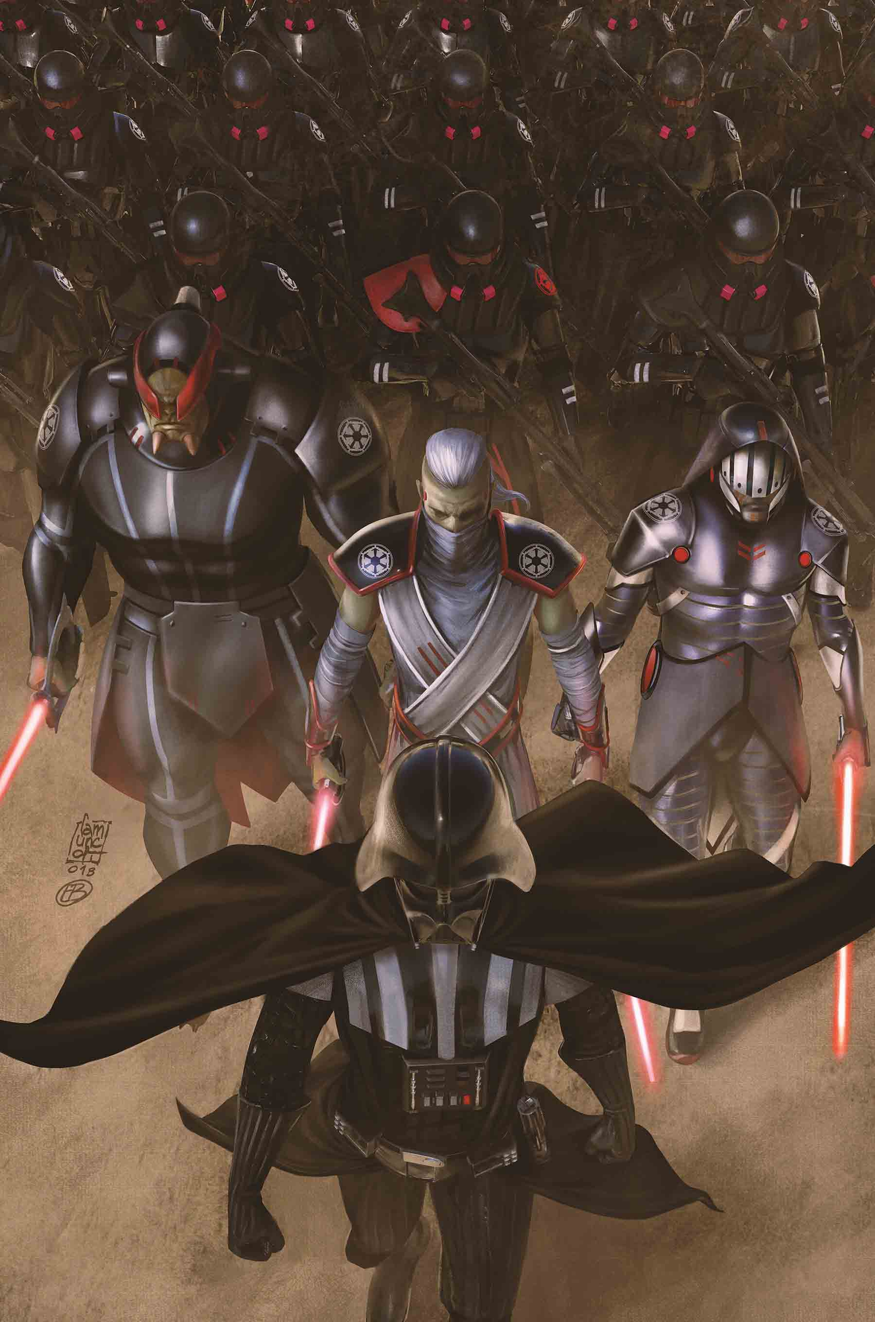 Canon Comic Review Darth Vader Dark Lord Of The Sith Burning Seas Arc Issues 13 18 Mynock Manor