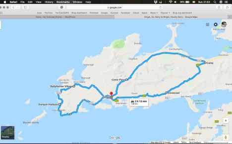 drive map dingle