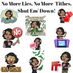 No More Lies, No More Tithes, Shut Em' Down!!!