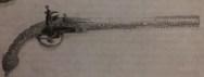 Splitski pištolj izrezbareni