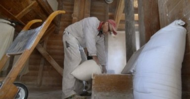 mjernje brašna i žita u mlinicama, vodenicama