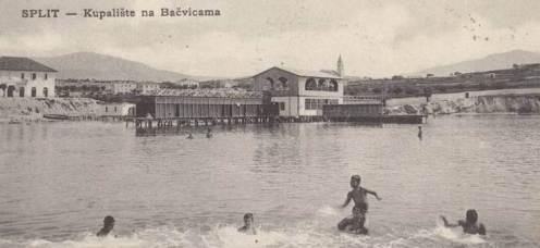 Bačvice povijesna slika