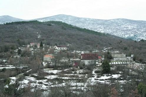 Selo Šušnjari u Imotskoj krajni