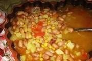 Tradicionalna istarska Maneštra od bobići
