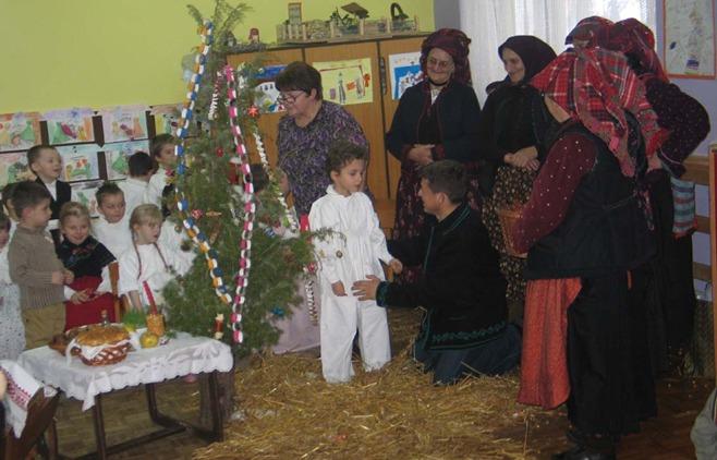Božićno vrijeme i tradicionalni Božićni običaji