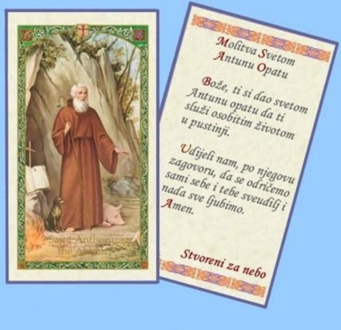 Molitva svetom Antunu Opatu