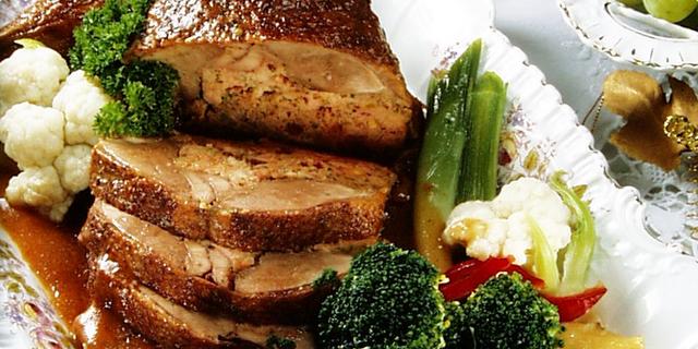 Tradicionalni recept za punjenu patku