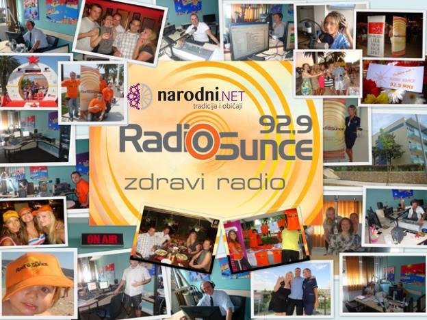 Gostovali smo na frekvencijama zdravog radia, Radio Sunca Split