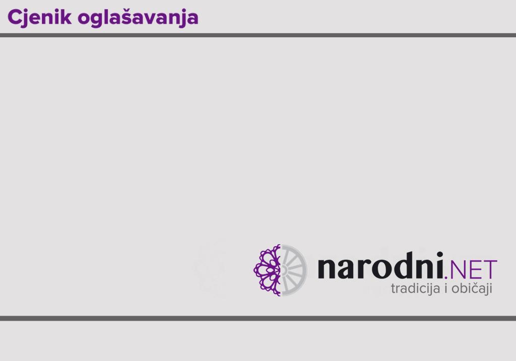 Najpovoljnije oglašavanje na portalu narodni.NET