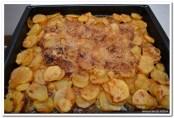 Pečeni krompir s svinjskom maramicom