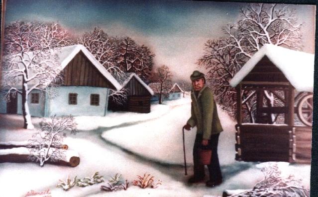Zaboravljeni život, nekadašnja zima na selu