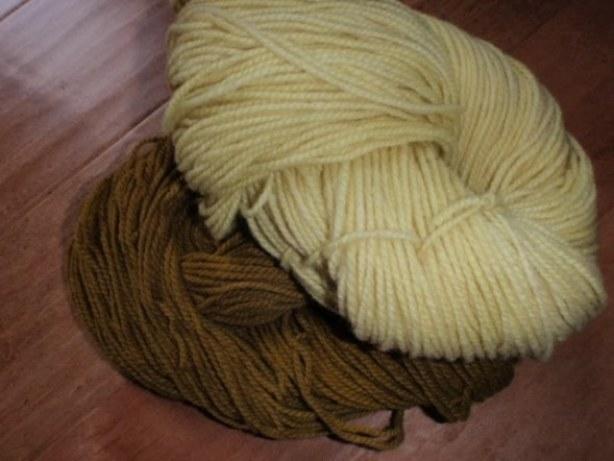 ručno bojana, farbana vuna