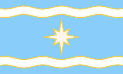 The Minnesota Sky-Blue Waters Flag