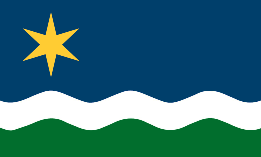 The Star of the North Flag