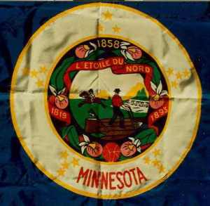 The Second Minnesota State Flag (1957)