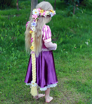Rapunzel kjole (bageste)