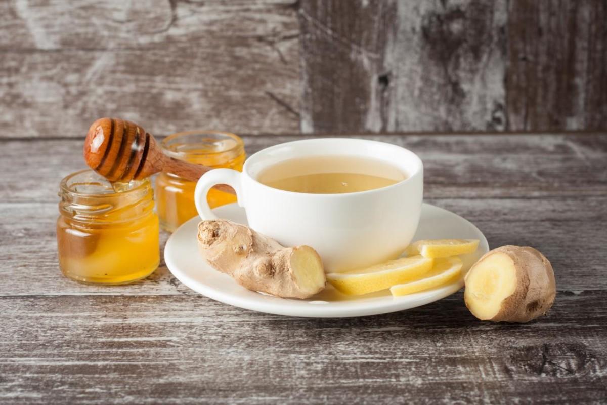 Ingredienser til Kompote med Ginger